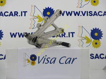 Immagine di PIASTRA APPOGGIAPIEDE ANT DX MOTO APRILIA RS 50 -2008-