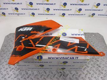 Immagine di CARENA LATERALE SX MOTO KTM EXC 125 -2006-